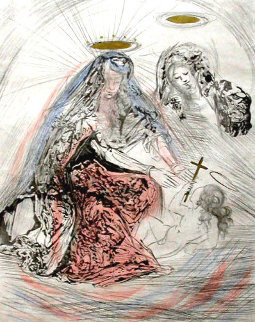Sainte Anne 1965 Limited Edition Print - Salvador Dali