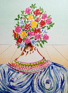 Retrospective the Flowering of Inspiration 1978 Limited Edition Print - Salvador Dali