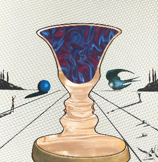 Tristan And Isolde: The Cup of Love 1972 Limited Edition Print by Salvador Dali