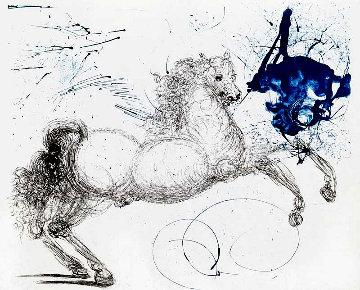 Pegasus: Mythology Series 1963 Limited Edition Print by Salvador Dali