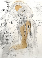 Athena 1963 (Early) Limited Edition Print by Salvador Dali - 0