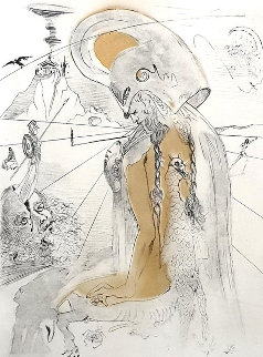 Athena 1963 Limited Edition Print - Salvador Dali