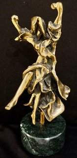 Carmen-Castanets Bronze Sculpture AP 1970 10 in Sculpture - Salvador Dali