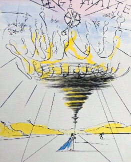 Legitimite - Process And Defamation Suite (1 etching by Dali, 7 etchings by Mittleberg) 19 Limited Edition Print - Salvador Dali