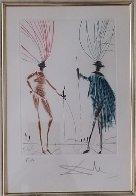 Two Gentlemen of Verona AP 1985 Limited Edition Print by Salvador Dali - 3
