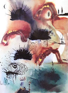 Lobsters Quadrille From Alice in Wonderland Remarqued 1969 Limited Edition Print by Salvador Dali