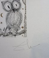La Petite Chouette  Limited Edition Print by Salvador Dali - 2