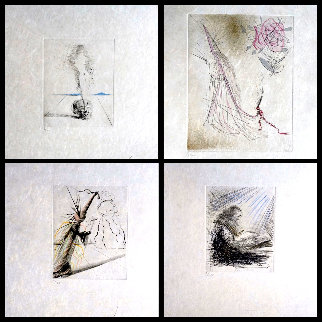 Magicians Suite 1968 (Set of 4) Limited Edition Print by Salvador Dali