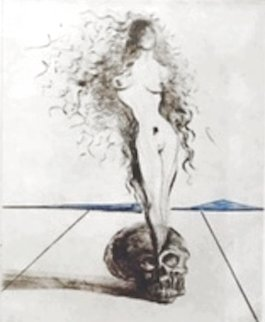 Magician Vanite 1968 (Early) Limited Edition Print - Salvador Dali