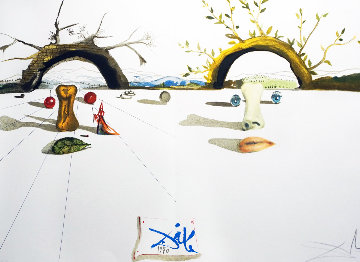 Winter Summer 1973 Limited Edition Print - Salvador Dali