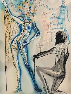 Fashion Designer 1979 Limited Edition Print - Salvador Dali