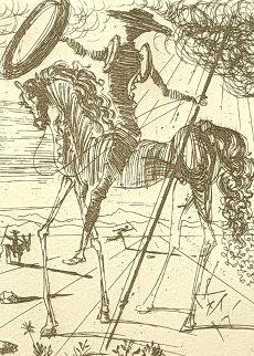 Don Quixote  de la Mancha 1957 AP Limited Edition Print - Salvador Dali