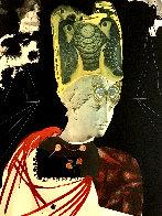 Crazy, Crazy, Crazy Minerva 1971 Limited Edition Print by Salvador Dali - 0