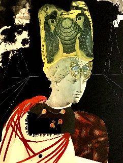 Crazy, Crazy, Crazy Minerva 1971 Limited Edition Print - Salvador Dali
