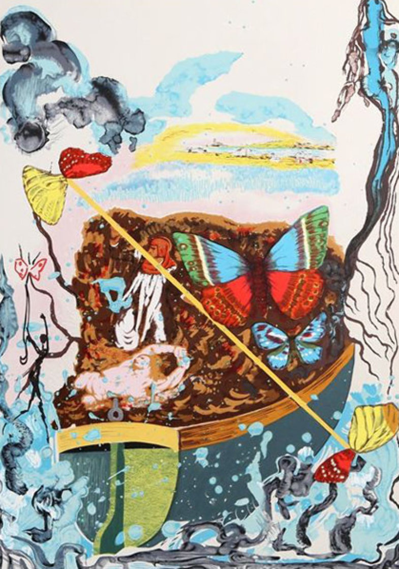 Papillon Suite III 1977 Limited Edition Print by Salvador Dali