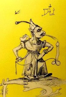 Untitled J: Les Songes Drôlatiques de Pantagruel 1973 Limited Edition Print by Salvador Dali