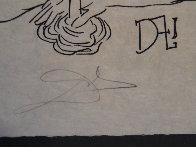 Les Songes Drolatiques De Pantagruel: Untitled (R) Black And White 1973 Limited Edition Print by Salvador Dali - 2