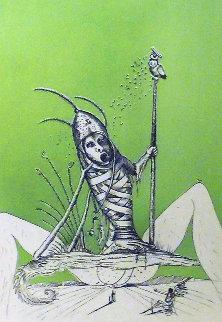 Les Songes Droulatiques De Pontagruel: Untitled (O) 1973  Limited Edition Print - Salvador Dali