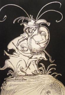 Les Songes Drolatiques De Pantagruel: Untitled (S) 1973 Limited Edition Print by Salvador Dali