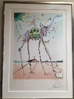 Celestial Elephant 1979 Limited Edition Print by Salvador Dali - 2