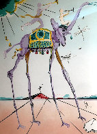 Celestial Elephant 1979 Limited Edition Print by Salvador Dali - 0
