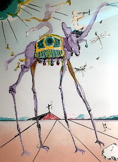 Celestial Elephant 1979 Limited Edition Print - Salvador Dali