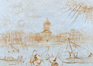 Académie Des Beaux Arts 1975 Limited Edition Print - Salvador Dali