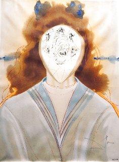 Alchemie Des Philosophes l'immortalite 1975 Limited Edition Print - Salvador Dali