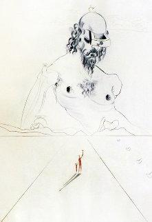 Aurelia Le Colosse 1972 Limited Edition Print - Salvador Dali