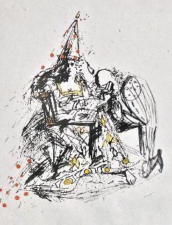 Fantoms Le Soupirant 1968 Limited Edition Print - Salvador Dali