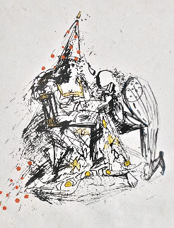 Fantoms Le Soupirant 1968 (Early) Limited Edition Print - Salvador Dali