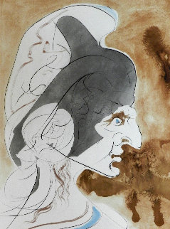 Homage a Leonardo Condottiere 1975 Limited Edition Print by Salvador Dali