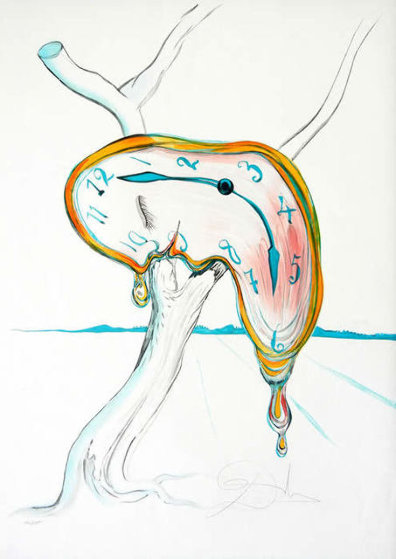 Tear of Time 1998 Limited Edition Print by Salvador Dali