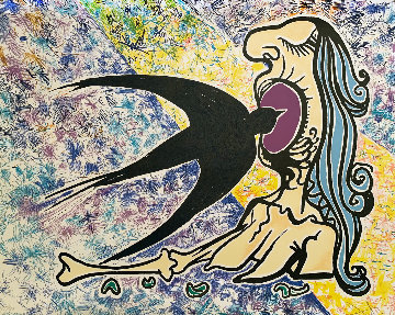 Swallow  1974 Limited Edition Print by Salvador Dali
