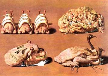 Les Caprices Pinces Princiers 1973 Limited Edition Print by Salvador Dali
