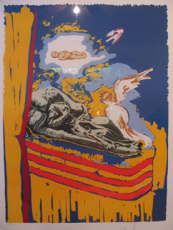 Immaculate Conception (Nine of Swords) 79-12 Limited Edition Print by Salvador Dali