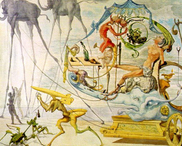 Dionysus 1967 (Early) Limited Edition Print by Salvador Dali