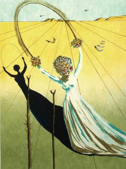 Dream Passage Limited Edition Print by Salvador Dali