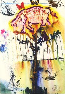 Alice in Wonderland - Mad Tea Party 1984 Limited Edition Print by Salvador Dali