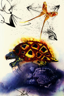 Mock Turtle's Story: Alice in Wonderland Suite 1984 Limited Edition Print by Salvador Dali
