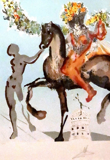 Harbinger 1980  Limited Edition Print by Salvador Dali