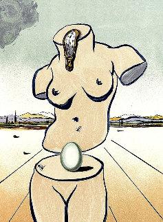 Birth of Venus 1979 Limited Edition Print - Salvador Dali