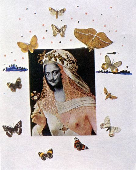 Memories of Surrealism: Surrealistic Portrait of Dali AP 1971 Limited Edition Print by Salvador Dali