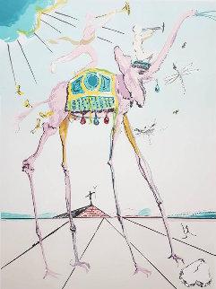 Space Elephant: Celestial Elephant 1979 Limited Edition Print - Salvador Dali