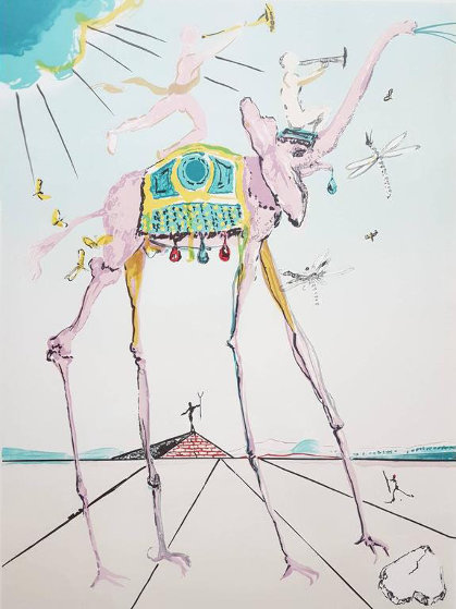 Space Elephant: Celestial Elephant 1979 Limited Edition Print by Salvador Dali