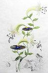 Flora Dalinae Lilium Musicum 1968 Limited Edition Print - Salvador Dali
