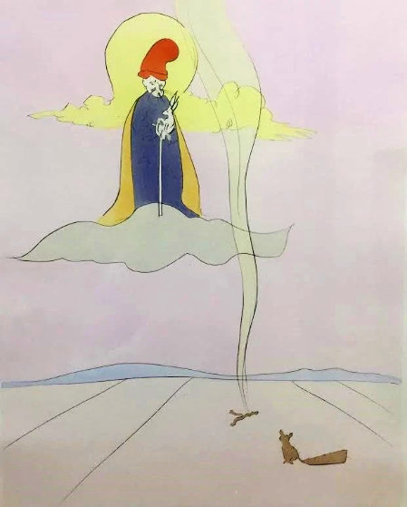 Japanese Fairy Tales Jugoye AP 1976 Limited Edition Print by Salvador Dali