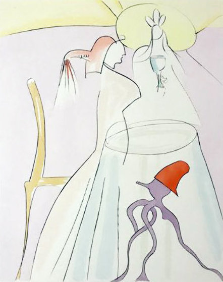 Japanese Fairy Tales Urashima Taro 1976  Limited Edition Print by Salvador Dali