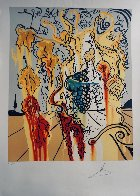 Portrait of Autumn 1980 Limited Edition Print by Salvador Dali - 1