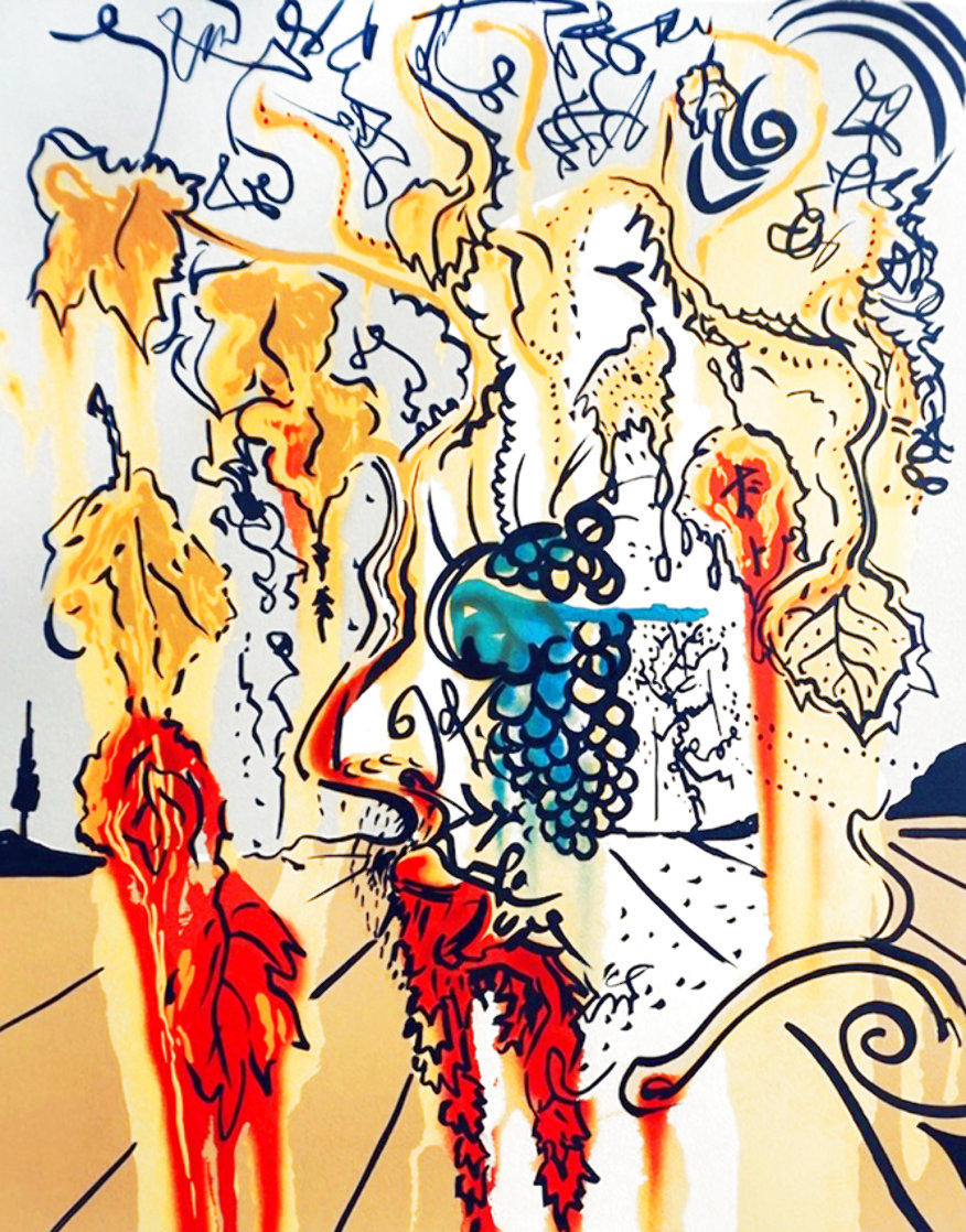 Portrait of Autumn 1980 Limited Edition Print by Salvador Dali